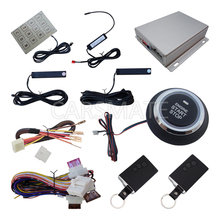 Hot PKE Car Alarm With Card Smart Keys Identification Recognized Keyless Entry Lock Or Unlock(China)