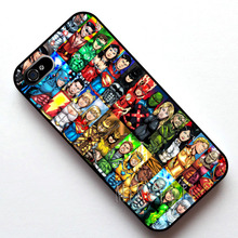 #12051 Justice League Ultimate Pack Case Cover, Case for Apple Iphone 4s 5 5s SE 5c 6 6s 6plus 6s plus(China)