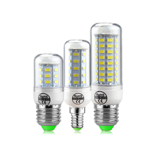 SMD5730 Lampada LED Corn Bulb E27 E14 High lumens Bombillas Light 24-72LEDs AC220V-240V LED Energy saving Lamp indoor Lighting(China)