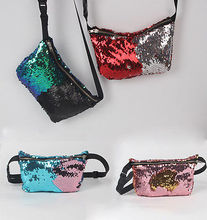 Women Clutch Dazzling Sequins Glitter Zipper Handbag Evening Bling Purse Bag