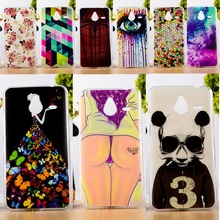 DIY Painted Soft TPU & Hard Plastic Phone Case For Microsoft Nokia Lumia 640XL Cell Phone Cover Anti-Knock Function Phone Skins
