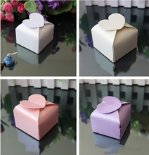 Lovly heart shaped wedding party favor candy box,cute gifts packing paper chocolate packaging, 200pcs/lot, Express shipping