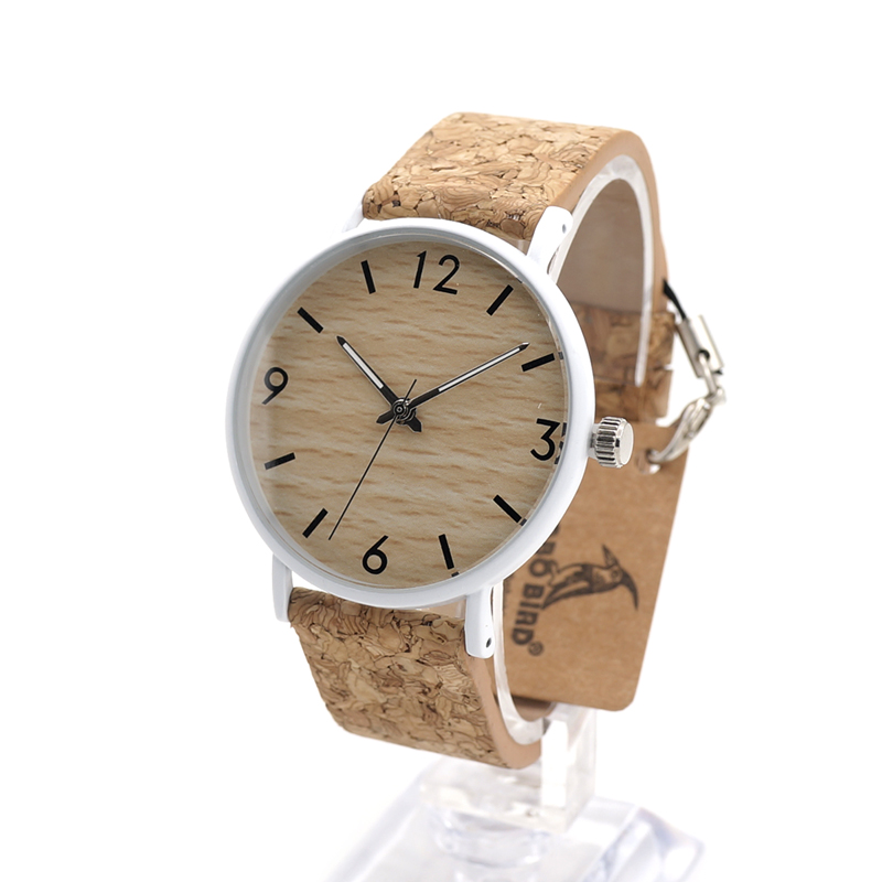 BOBO BIRD Stainless Steel Case Wooden Dial Watches Men Quartz Military Clock  Relojes relogio masculino<br><br>Aliexpress