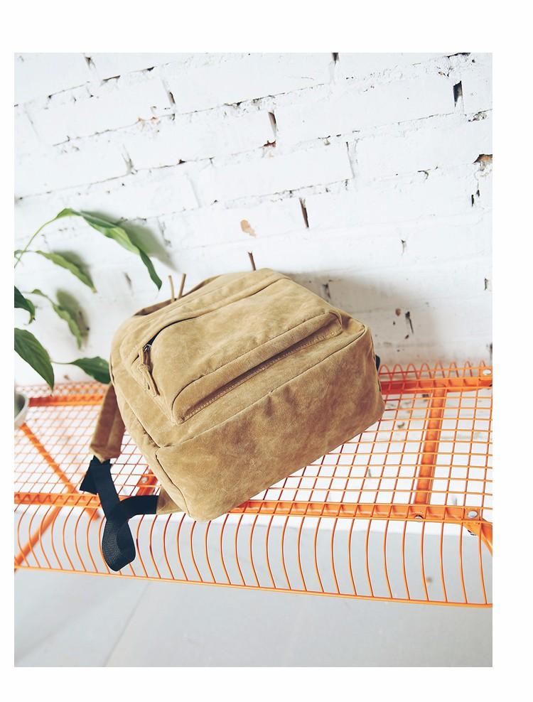 2016 New Women Backpack Preppy Style Suede Backpacks Teenage Girls School Bags Vintage Rivet Travel Backpack Burgundy Gray Black (53)