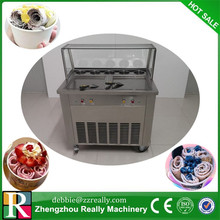 Ship by sea to Pakistan square pan fry ice cream machine 220V ship to home(China)