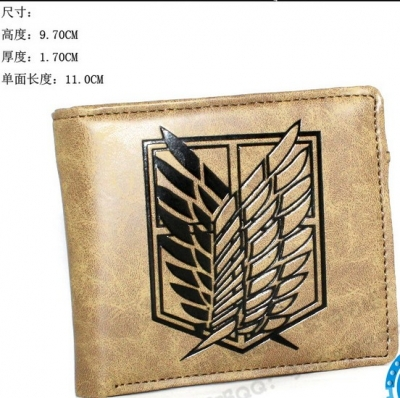 QB-Y65001 Attack on Titan wallet