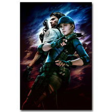 Resident Evil 6 Hot Video Game Art Silk Poster Huge Print 13x20 32x48 inches Leon Ada Wong Picture For Living Room Decoration