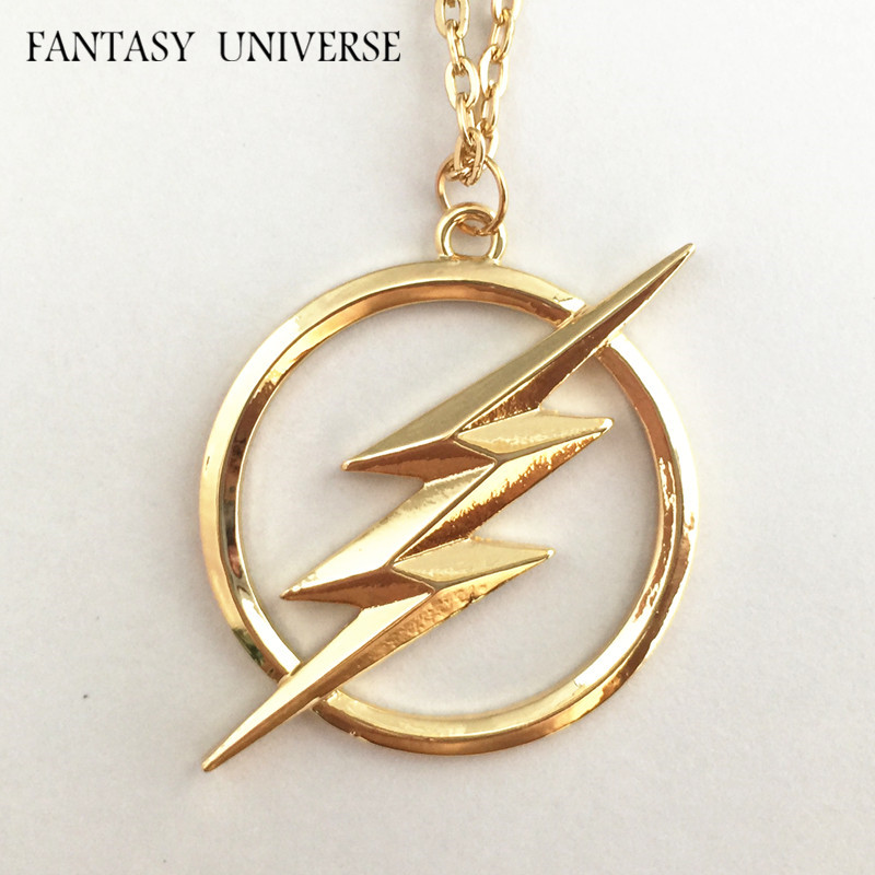 FANTASY UNIVERSE Freeshipping 20pc a lot The Flash necklace SED989