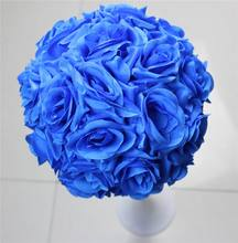 Free shipping purple 15CM*10pcs Pomander rose ball  wedding kissing flower ball party/home decoration flower events&party supply