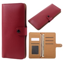 Universal Cell Phone Case Split Leather Wallet Pouch Cover Bag for iPhone 6s / Sony Z5 Compact, Size: 140 x 72mm