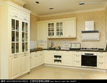 High glossy lacquer kitchen cabinet