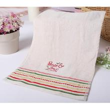 Christmas Series Cotton Towels Children Wash Towel Super Absorbent Face Towels Christmas Decoration 28 * 46Cm #45