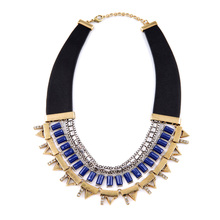 Female Perfume PU Bohemian Necklace Maxi Colar Ethnic Style Jewelry Mom Birthday Gift My Orders