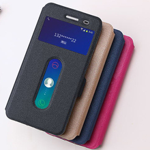 Lenovo S90 leather Case cover 4 styles open window case for Lenovo S90 Cover Amazing lenovo S90 phone case cover