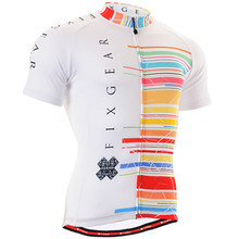 Summer Mens Cycling Jerseys Hot Style Bike Shirts Bicycle Clothing Short Sleeve O-neck Breathable Quick-dry Outdoor Sportwear