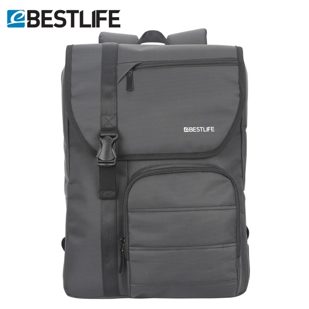 BESTLIFE Men Grey Laptop Backpack Multifunctional Nylon Business Daypack Waterproof Male Travel Back Pack Bags Mochila Masculina<br>