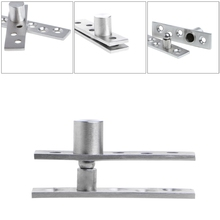 Up Down Shaft Stainless Steel Door Rotating Hinge Pivot 75/100mm 360 Degree(China)