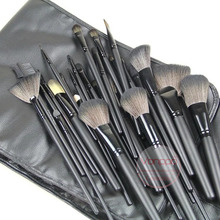 New Brand Professional 24Pcs Makeup Brushes Set Cosmetic Make up Brushes Kit with PU Case Free Shipping