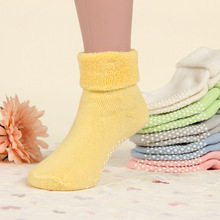 Buy Cotton Baby Socks Autumn Winter Thicken Warm Newborn Boy Girl Socks Floor Wear Antiskid Sock Kids 1-3T Party Favors for $1.29 in AliExpress store