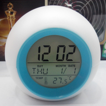 YOHAPP Brand Digital Alarm Clock With Backlight Snooze Function Led Alarm Clock Electronic Desk Table clock Desktop Desk Watch(China)