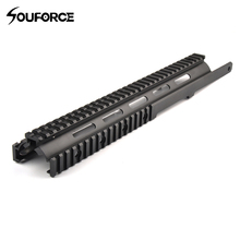 Tactical M14 Handguard Keymod Rail System for M14 RAS Airsoft of Gun Accessories Fit 20mm Rail Mount(China)