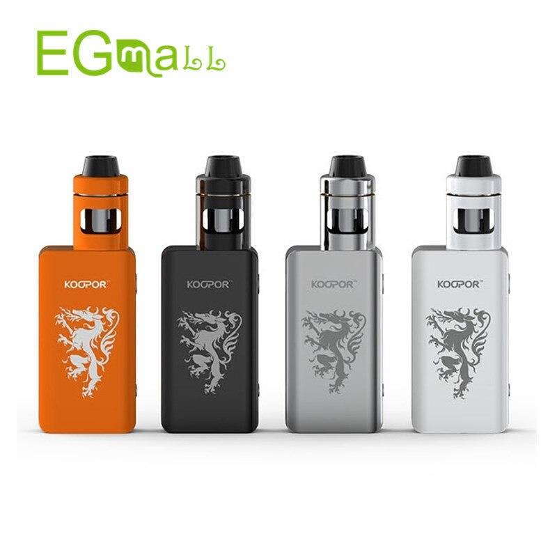 Add Battery Electronic Cigarette Original Smok Knight Kit 80W TC Kit with KOOPOR MINI2 Mod and Helmet Atomizer<br><br>Aliexpress