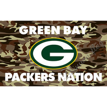 Green Bay Packers flag 3ftx5ft Banner 100D Polyester Flag 2 metal Grommets custom Packers NATION flag(China)