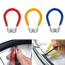 Buy Red/Blue/Yellow Durable Bicycle MTB Bike Parts Spoke Key Wheel Spoke Wrench Tool 14G Nipples #20/18L for $1.35 in AliExpress store