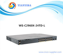 Sealed Catalyst 2960X Series WS-C2960X-24TD-L 24 port switch gigabit(China)