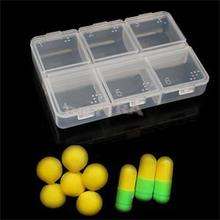 New High Quality 6 Cells Pill Cases/Casual Empty Home Using Medicine Storage/Convenient Travelling Mini Pill Splitters