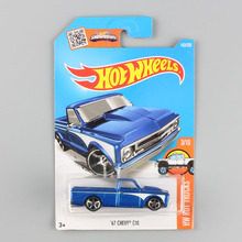 children mini scale hotwheels trucks chevy 67chevy c10 Hot wheels racing car toys boys diecasts model vehicles styling for kids