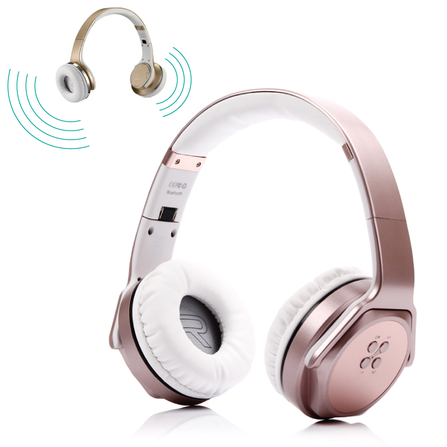 itormis MH3 Wireless Headphones &amp; Speaker 2 in 1 Bluetooth 4.2 Foldable Headset with NFC Smart Pairing for Android iOS iPhone<br>