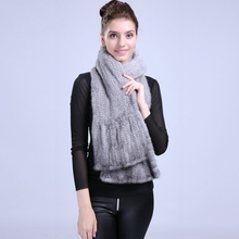 Customized  Lady's Scarf Wide Import Mink Material 100% Real Warm Soft Comfortable Luxury Noble Style Support Hot ET4030-12