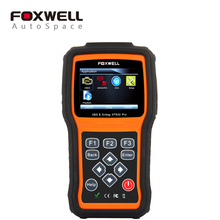 Foxwell NT630 Pro OBD Engine Scanner + ABS + SRS Airbag Crash Data Reset Tool + SAS Steering Wheel Angle, Automotive OBD2 Scaner(China)