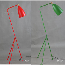 Modern Floor Lamp Light Green/Red/White/Black Triangle Floor Lamps Lighting Fixture Guaranteed 100%+ Free Shipping!(China)