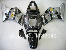 Injection For SUZUKI GSX-R1000 K3 03 04 GSX R1000 K3 Silver Black GSXR 1000 2003 2004 GSXR1000 Fairing Kit+7gifts