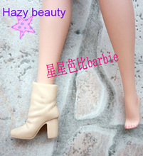 Hazy beauty different styles for choose Casual Boots High heel Dance Sports shoes for Barbie 1:6 Doll Fashion Newest BBI00128(China)
