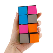 Infinity Cube Mini Fidget Toy Finger EDC Anxiety Stress Relief Magic Cube Blocks Adult Children Kids Funny Toys Best Gift Jul 5(China)