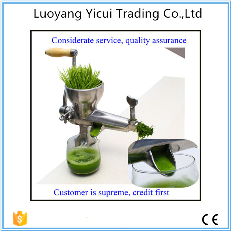 Portable manual easy to clean wheatgrass juicer <br><br>Aliexpress
