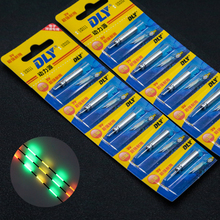 10pcs/Pack CR425 Lithium Pin Cells Electronic Fishing Float Night LED Fishing Float Fishing Tackle Tool Accessories