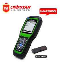 Hot Sale OBDSTAR X100 PROS C+D+E model Key Programmer with EEprom Adapter+IMMOBILISER+Odometer Adjustment Replace X-100 Pro(China)