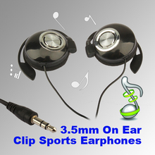 Hot Sale Fashionable Design,Sport Earphone Clip On Sports Stereo Headphones Earphone For MP3 MP4 Player Free Shipping