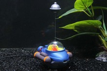 Buy fish tank action toys bubble submarine aquarium decoration ornament driven air pump for $13.31 in AliExpress store