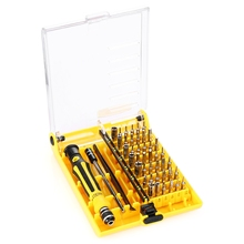 Professional 45 in 1 JK 6089 B Hardware Screw Driver Tool Kit Precise Screwdriver Set HQ Mobile Phone Repair Tool and Notebook