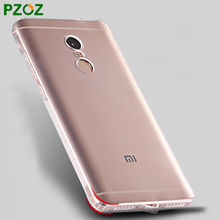 PZOZ Xiaomi Redmi Note 4 Case Silicone Cover Original Xiaomi Redmi Note 4X Pro Luxury Transparent Shockproof Phone Soft Shell