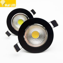 New arrivel LED Dimmable Led downlight lamp COB 3w 5w 7w 12w Spot light 85-265V ceiling recessed Lights Indoor Lighting