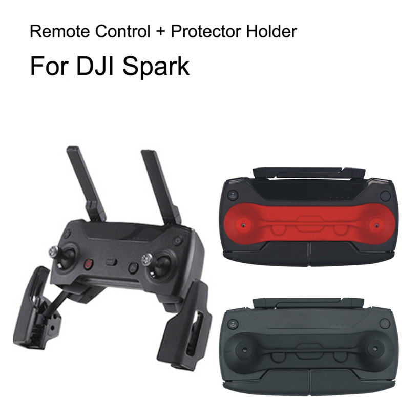 Remote Controller Range UP To 2KM + Guard Rocker Protectort For DJI Spark drop shipping 1013