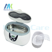 600ml mini ultrasonic cleaning machine Watch/Denture/Eyeglasses/Jewelry ultrasonic cleaner Big Discount(China)