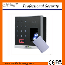 Bluetooth fingerprint ID and IC card access control device and ZKBioBT application X8-BT