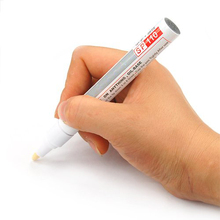Affordable 1 White Permanent Car Tyre Tire Metal Paint Pen Marker(China)